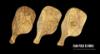 Imagen de Tabla de cortar de madera de olivo 43x21 cm con mango