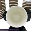 Imagen de Vasos reutilizables de triple pared con tapas, 240 ml, set de 50 unidades.