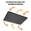 Imagen de Bandeja para horno perforada antiadherente