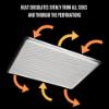 Imagen de Set de 4 Bandejas de Horno de Aluminio.