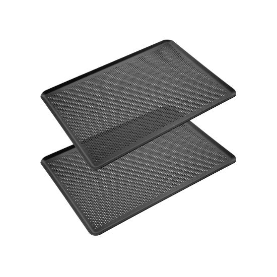Imagen de Set de 2 Bandejas de Horno de Aluminio Antiadherente.