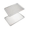 Imagen de Set de 2 Bandejas de Horno de Aluminio Perforada y Lisa.