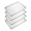Imagen de Set de 4 Bandejas de Horno de Aluminio Lisa