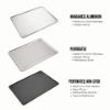 Imagen de Set de 2 Bandejas de Horno de Aluminio, Perforada Antiadherente y Lisa